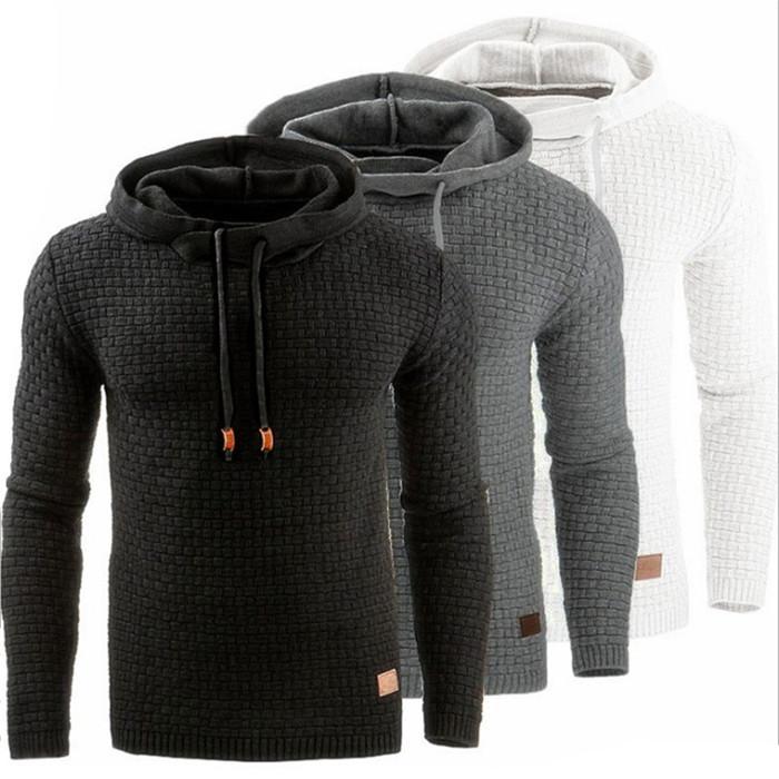 Hoodies Pullover Mode lange beiläufige Hoodies Übergröße plus särtliche Größe Sweatshirts Sport Herren Kapuzen Designer Mens ugellend