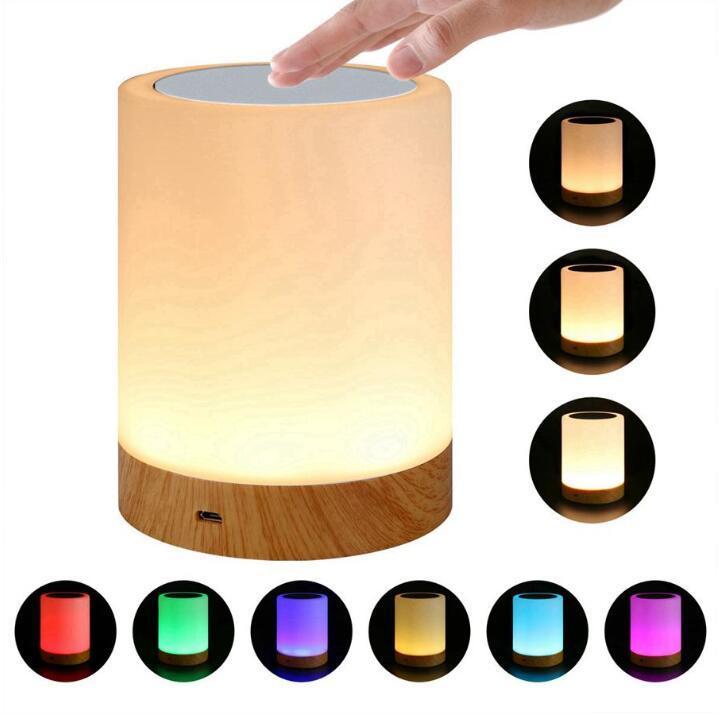 Smart Bedside Lamp Lampada da tavolo Lampada da tavolo Amicizia Amicizia Creativo Desk Desk Light For Bedroom Bedside Lampe Bed Lights Lights Decoration LSK1649