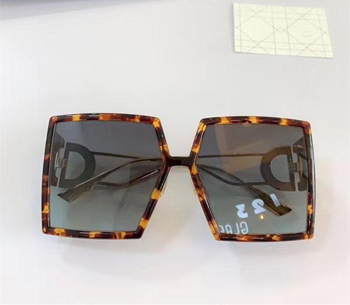 Euro-am نموذج الأزياء خفيفة الوزن النظارات الشمسية الكبيرة