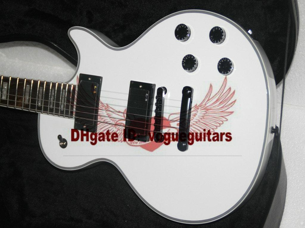 Best High Quality Newest White Custom Electric Guitar Oem Guitar Free Shipping