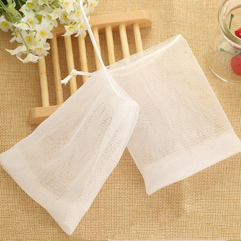 Soap Face Wash Espuma de Banho Net sabão bolha bolha malha limpeza do corpo Nets Bath lavagem Ferramenta de Banho Acessórios IIA744