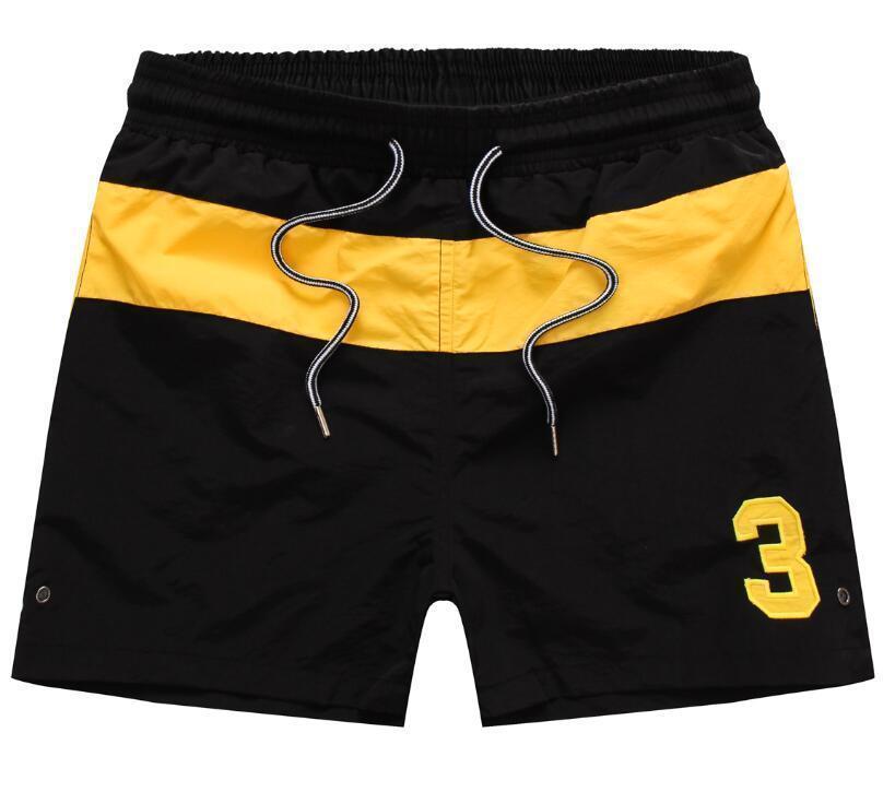 ralph lauren Summer Pantalones de verano Pequeño caballo Pantalones cortos Casual Color Sólido Pantalones cortos para hombres Diseñador Pantalones cortos de playa Nueva Fashion9nmj