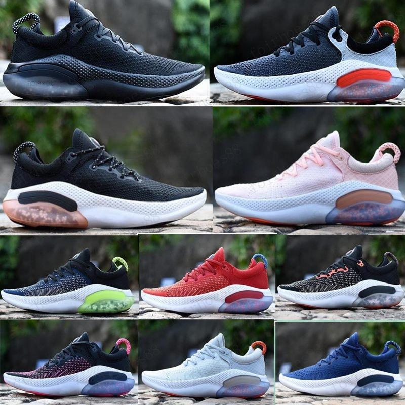 Hot Joyride Run FK Hombre para mujer Zapatillas para correr Triple Negro Blanco Platinum Racer Azul Deportes Sneakers Tamaño Utilitario 36-45