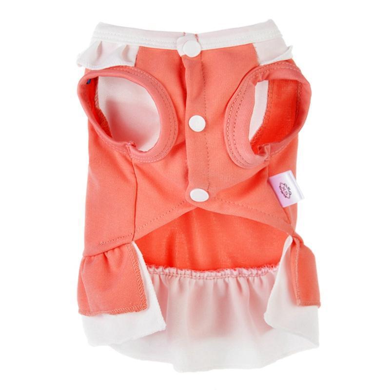 Pet New Kleidung Dog Teddybär Kleidung-Sommer-Breathable bequeme Micro-elastische dünne Prinzessin Dress Weiches Leicht