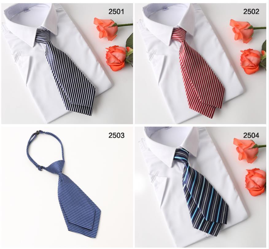 2020 assegni Plaid di New 6cmMen Tie 100% cravatta di seta rossa bianca jacquard festa di nozze tessuto Fashion Design GZ8