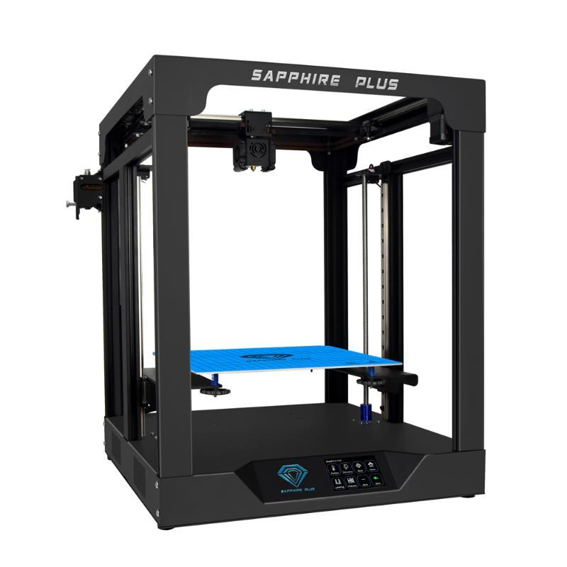 TWO TREES Sapphire plus 3D Printer Core XY BMG Extruder MKS board TMC2208 Core x y 300*300*350mm DIY Kits 3.5 inch touch screen