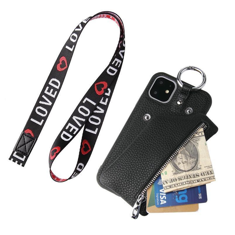 Zipper Zero Pocket Wallet Phone Case For Samsung Galaxy S8 S9 S10 Plus S7 Edge Note8 Note Note10 Plus Coin Purse jllQcE