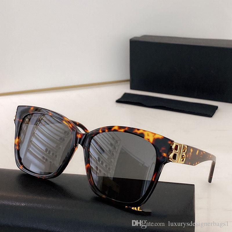 0102 lunettes de soleil mode 2020 Femmes chat lunettes cadre BIPEtal Big B Temples Temples UV400 Lunettes BB0102SA Femmes Lunettes avec boîte originale