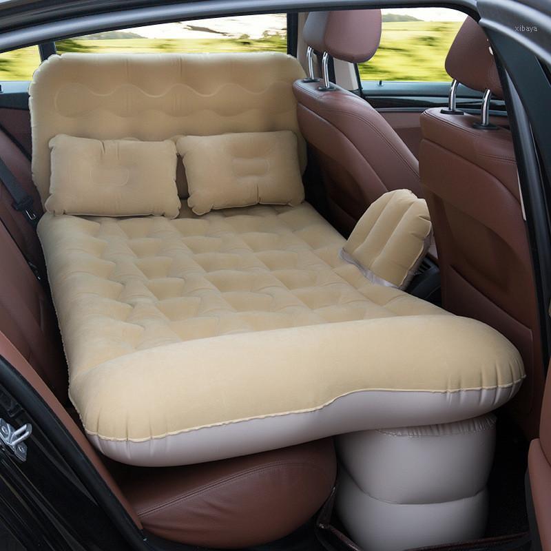 BYMAOCAR Araba Şişme Yatak Çok Fonksiyonlu Açık Şişme Yatak Araba Seyahat Yatak Malzemeleri1