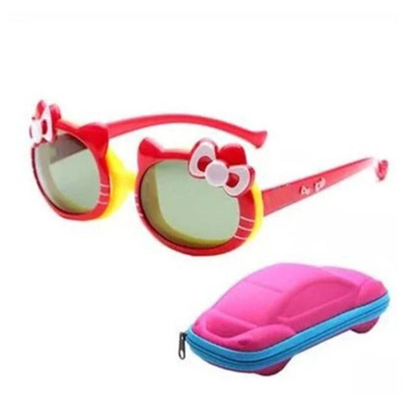 Silicone Soft Material for Boys and Girls Polarized Uv Radiation Resistant Children's Fashion Flip Sunglasses