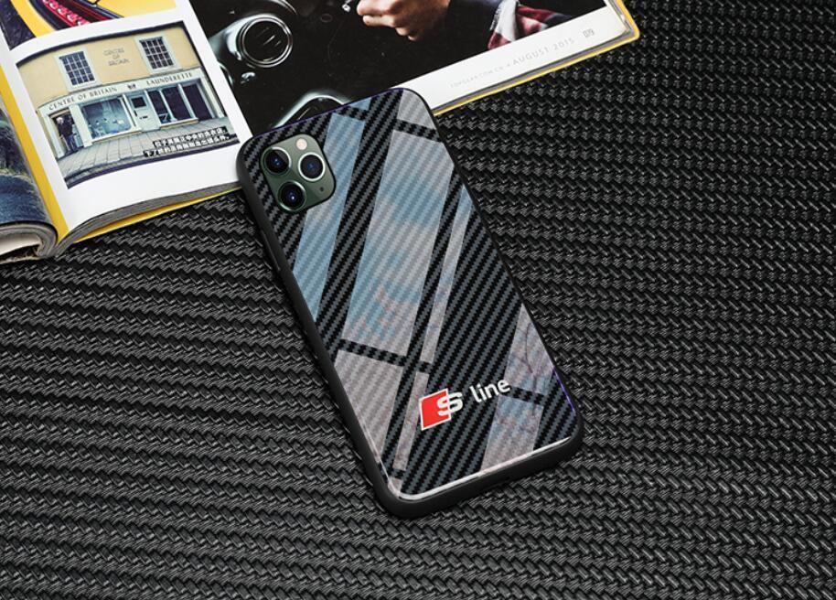 БЕСПЛАТНАЯ ДОСТАВКА витринные Sline логотип Audi Phone Case для iPhone X XS Mas 6 6s 7 8 плюс SE2 11 PRO MAX Samsung Galaxy s8 s9 s10 плюс примечание 8 9