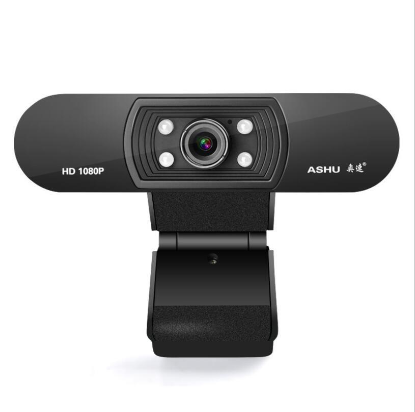 Ашу H800 Full HD видео камера 1080P HD камеры USB веб-камера ночного видения Фокус Компьютер веб-камера со встроенным микрофоном