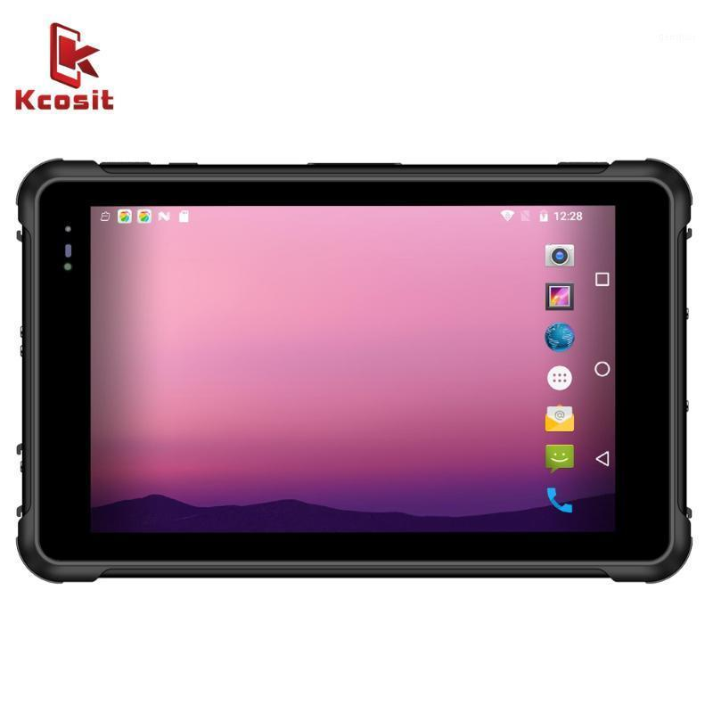 2020 China Rugged Tablet PC Android 9.0 Smartphone IP67 Waterproof 8 Inch 4G RAM 64GB ROM 4G LTE 2D Barcode Scanner UHF RFID1