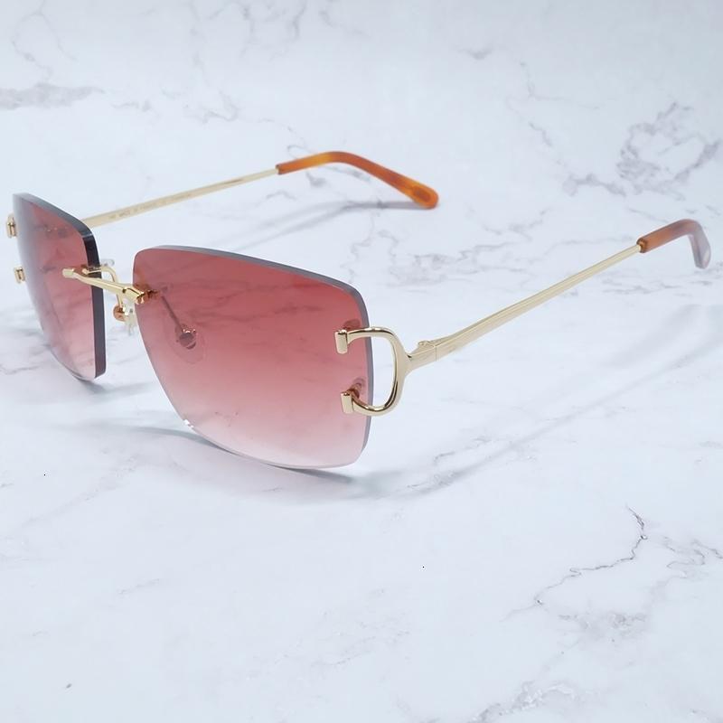 Brille Designer Große C Quadratische Männer Luxus Carter Mode Frau Vintage Shades Grüne Sonnenbrille Blau Sonnenbrille Günstiger BPCDE