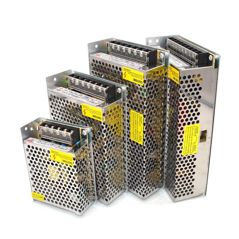 AC DC Güç Kaynağı 12 V 15 V 24 V 48 V Trafo 220 V 1A 2A 20A 30A Anahtarlama Powers Supplys