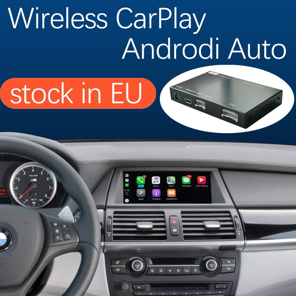 Беспроводной интерфейс Carplay для системы BMW CIC X5 E70 X6 E71 автомобиль 2011-2013 x1 E84 2009-2015, с Android Auto Morker Link Airplay