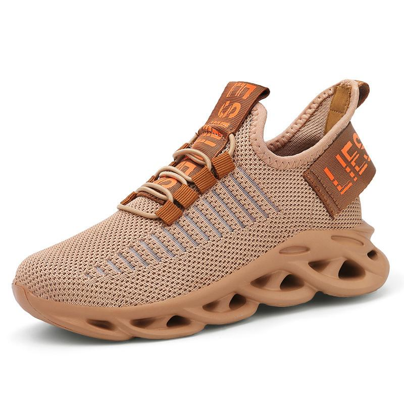 Spor ayakkabılar Nefes Mesh Çocuk Kesim Tek Çocuk Net Çocuk Uçan Dokuma Boys Spor Kız Eğitmen Dalgalı Sole Ayakkabı