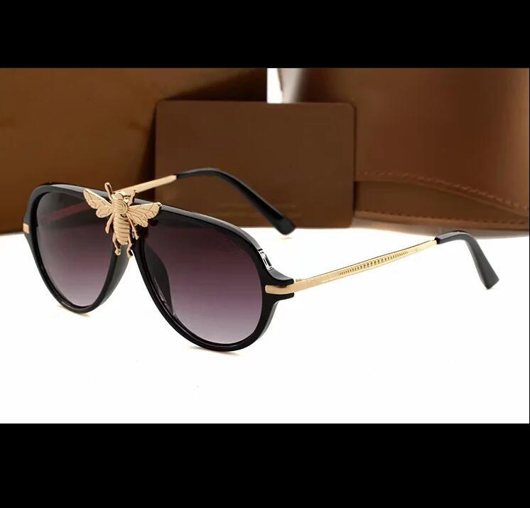 2021 Nuevo diseñador Gafas de sol Marca Gafas Parasol al aire libre PC Frame Fashion Classic Ladies Luxury 1885 Gafas de sol Sombra Espejo Mujer