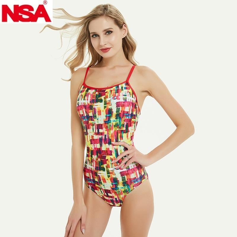 NSA 2020 جديد ملابس السباحة مثلث دعوى للماء المرأة ملابس السباحة وملابس السباحة منافسة