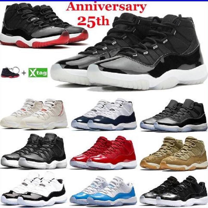 11 عالية أحذية كرة السلة رجالي رياضة حمراء الفوز مثل 96 مربى الفضاء كونكورد 11 ثانية منخفضة بارد رمادي أحذية رياضية الرجال النساء أحذية رياضية