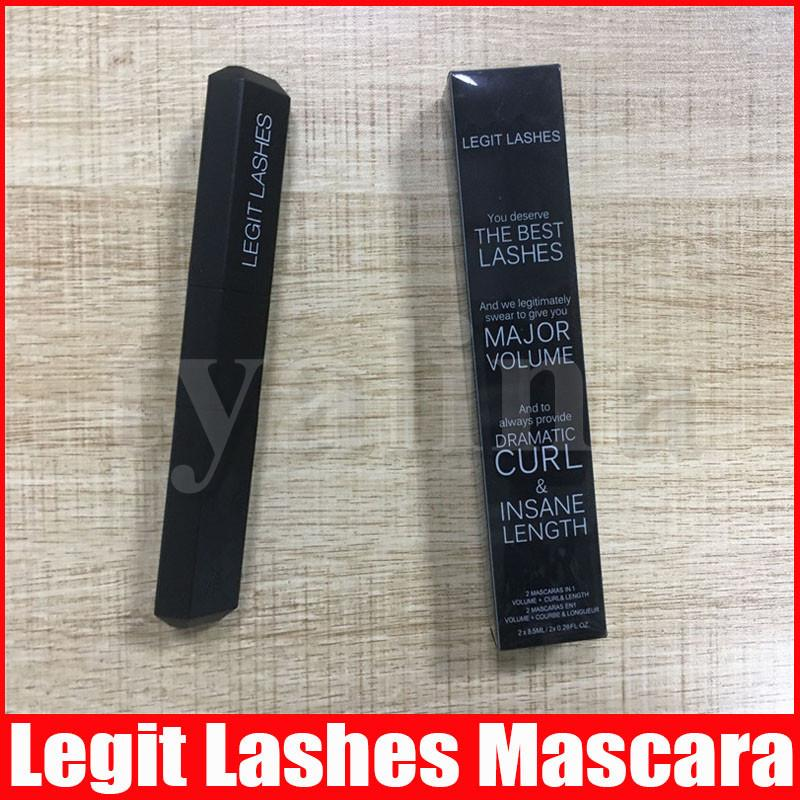 Doppia testa Legit Ciglia Il Best Lashes maggiore volume drammatica Curl nero freddo Lashes Mascara Estensione IN AZIONE