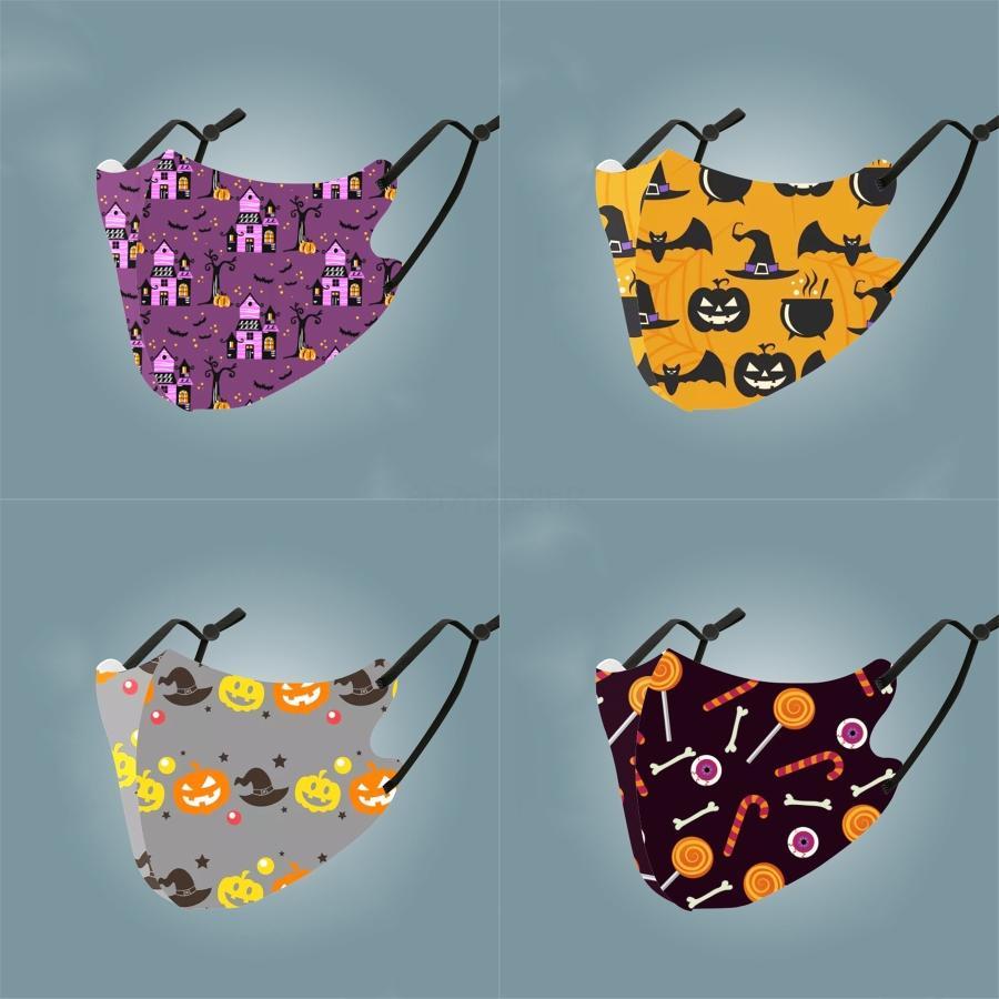 Adultes bébé Masques bouche 6 couches anti-poussière Masque Imprimé Cartoon Lavable Anti vent chaud Masques respirante Respirato # 308