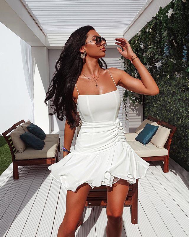 2020 femmes designer sexy dentelle dentelle maille mini blanche noire robe bandage high street nuit club célébrité robe de soirée de soirée vestido1
