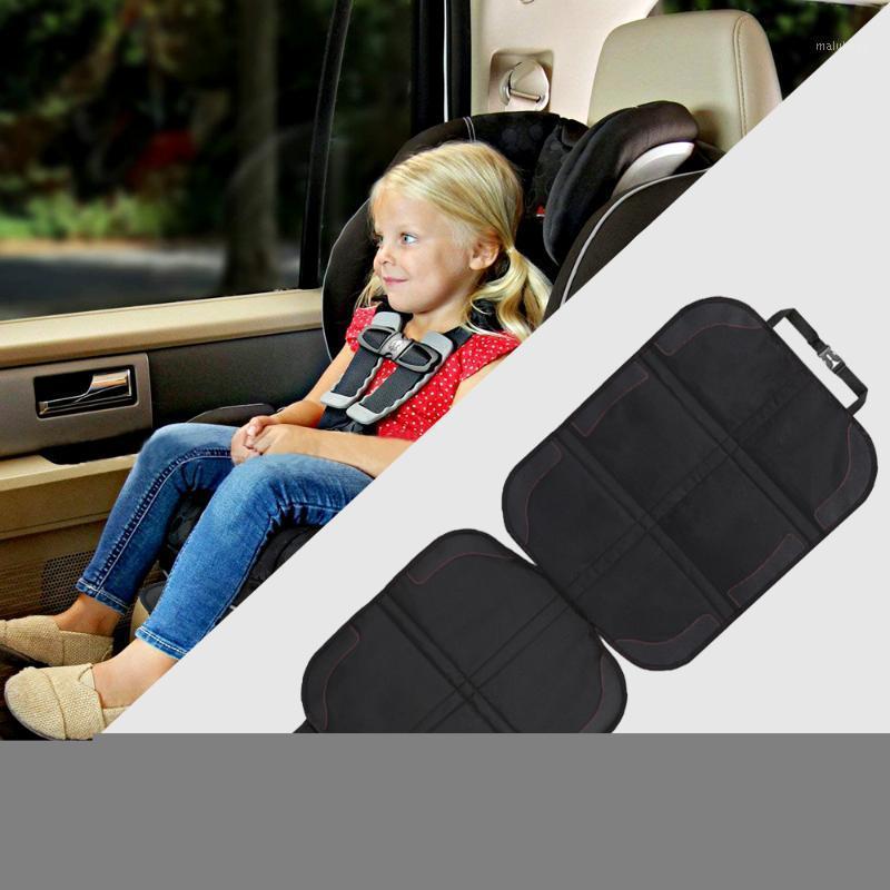 Cubierta de asiento de automóvil Oxford PU Cuero de cuero Asiento de seguridad Mats Mats Niño Baby Pads Estera protectora para bebés Protección de niños Cushion1