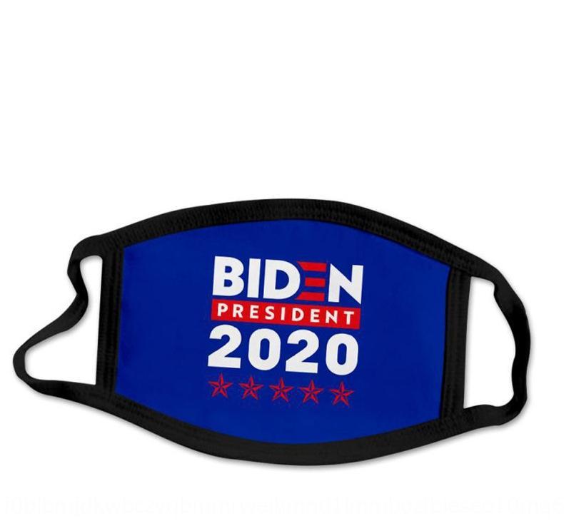 dVh4 Trump Fashion Echarpe Biden poussière impression Amérique du Drapeau Faire du vélo Masque Masque 3D et magique de protection solaire IIA357