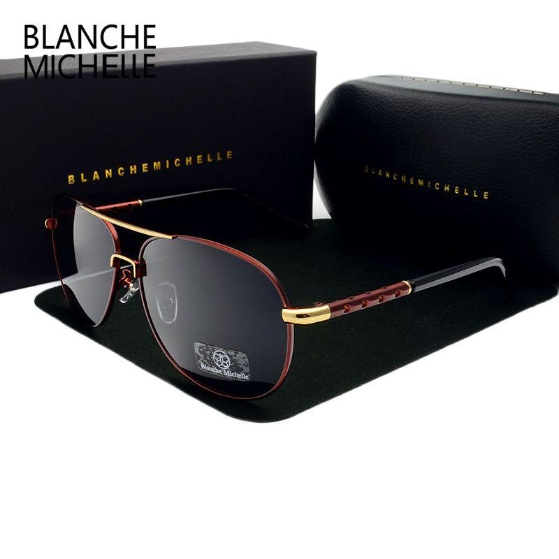 Alta Qualidade Oculos Polarizado Anti-Brilho Caixa de Vidros Sun 2020 Mens Vintage 1007 UV400 Óculos de Sol Okulares com Homens Dirigindo Dreig