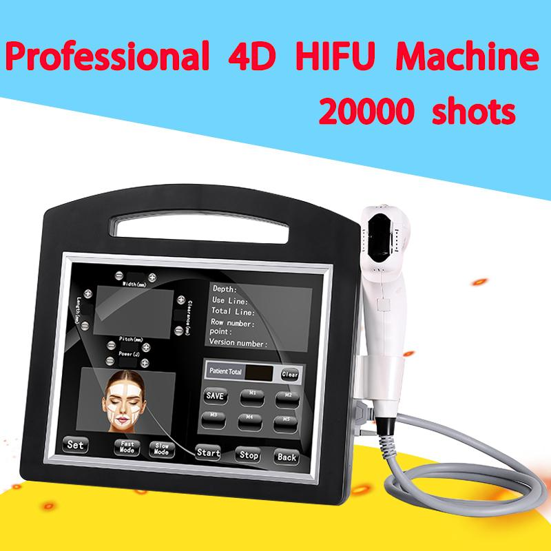 Hot Sale 2 in 1 4D HIFU Ultrasound 12 lines with 12cartridges Hifu Face Lift Wrinkle Removal Body Tightening With Vaginal Tightening Machin