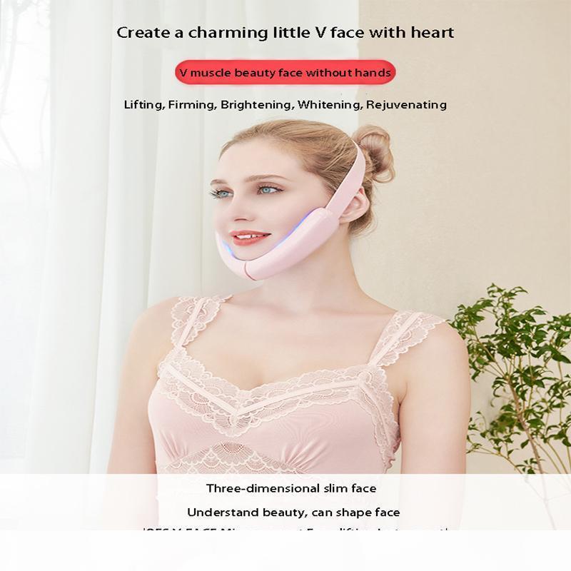 instrument de levage QualityFace v-face artefact dispositif d'entraînement des muscles du visage levage mince visage avec le menton de massage électrique face-levée