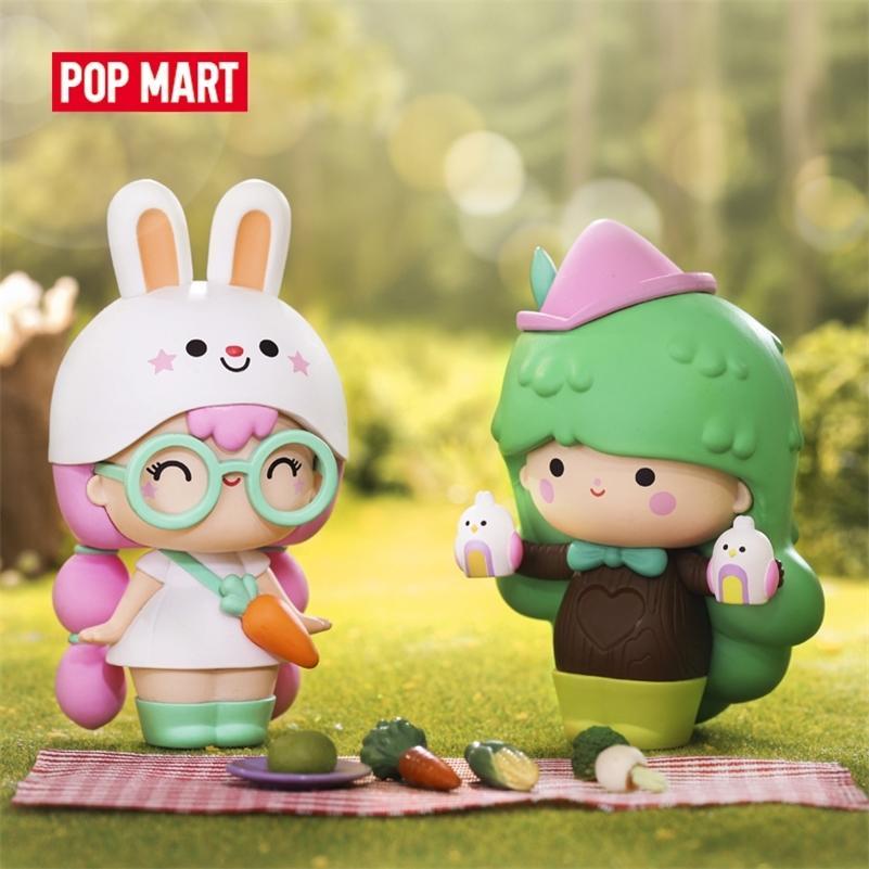 Pop Mart Momiji Keşfet Koleksiyon Sevimli Eylem Kawaii Hediye Çocuk Plastik Oyuncaklar Şekil Ücretsiz Kargo LJ200811