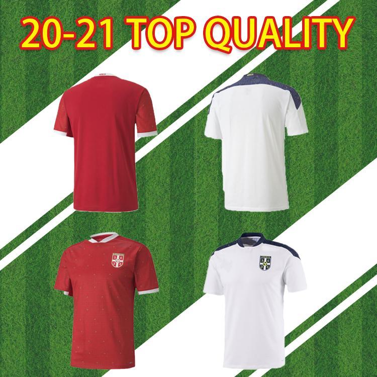 2020 2021 Serbia Football Shirt Team Team الصفحة الرئيسية Tradonjic Mitrovic Gudelj Rajkovic Jovic 20 21 قمصان كرة القدم S-2XL