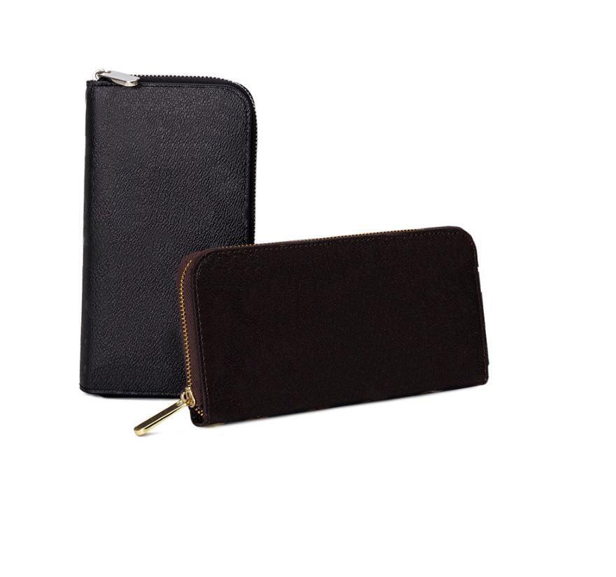 Les nouvelles femmes de mode long portefeuille et sacs à main de sac à main d'embrayage pour les hommes masculins portefeuille célèbres tirette sac téléphone portefeuille Livraison gratuite
