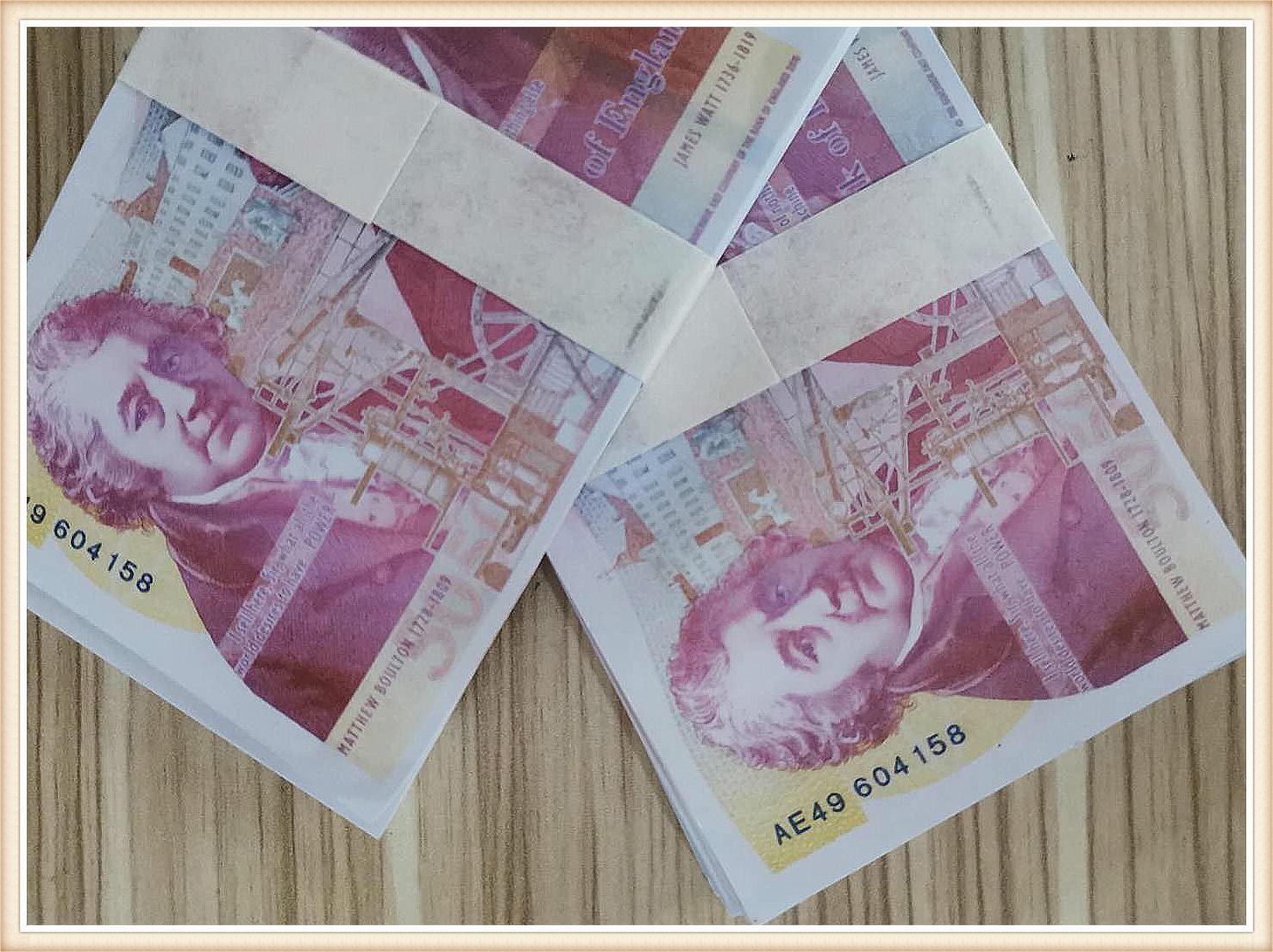 Billet de billet Cadeaux Cadeaux Billets de billet de banque Billet de billet de Billet