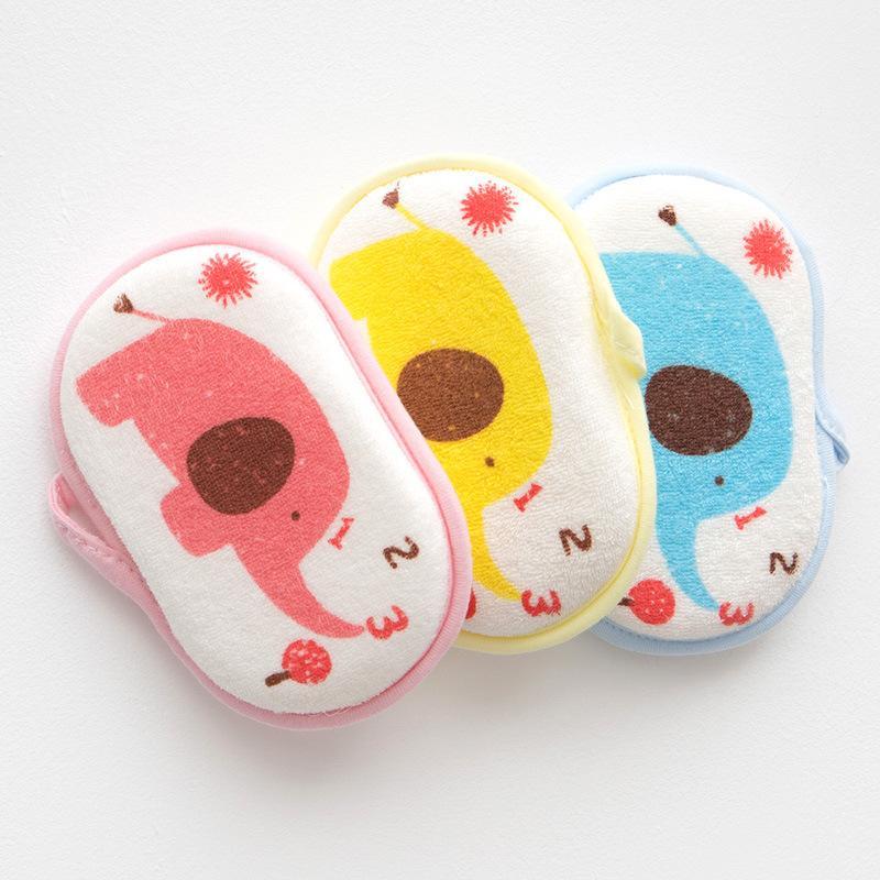 7 أنماط الطفل منشفة أدوات حمام الفيل طباعة الأطفال لينة حمام القطن الرضع حمام اللوازم الكرتون الإسفنج قطعة أثرية الاشياء الطفل M3276