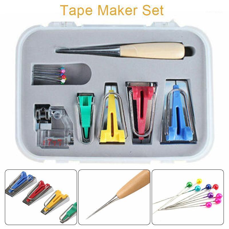 6/12/18 / 25mm Macchine utensili Binding Sew Sew Multifunzione Bias Bias Tape Maker Set DIY Patchwork Trapuntatura strumento di cucito1