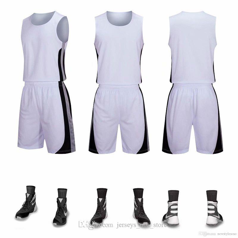 Tienda personalizada Jerseys de baloncesto personalizados Ropa de baloncesto Conjuntos con shorts Ropa Uniformes Kits Sports Design Mens Basketball A06-27