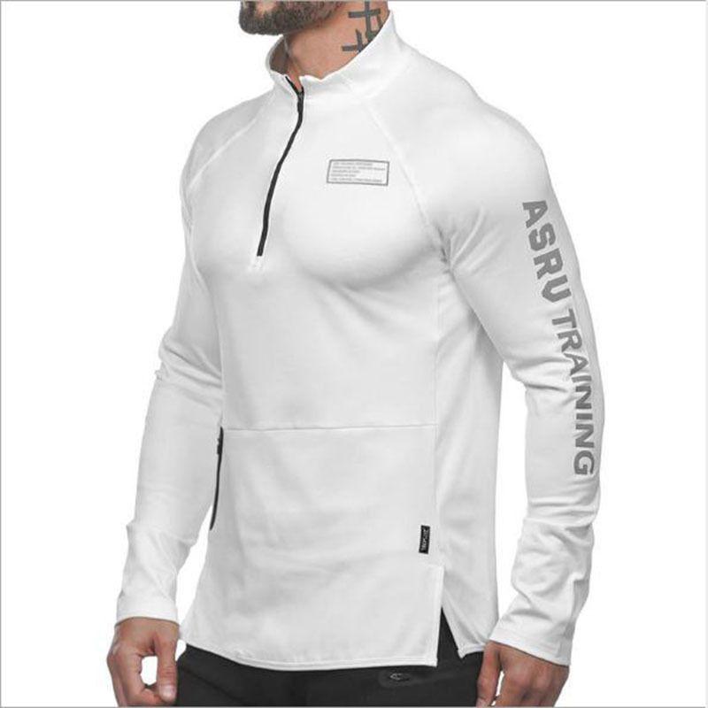 ALPHALETE Männer Gyms Hoodies Gyms Fitness Bodybuilding Sweatshirt Pullover Sport Male Workout Kapuzenjacke Kleidung 201020