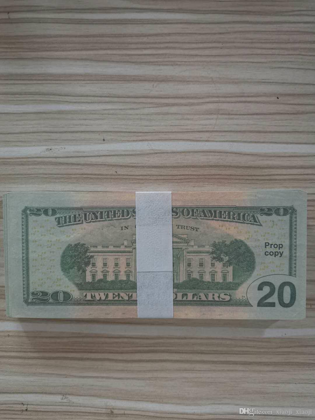 Free Decoration Nighclub Bar 01 Stage Atmosphere Party Prop Toys Money Fake Movie Money Dollors 100pcs/pack 20 Shipping Banknote Ggvkc