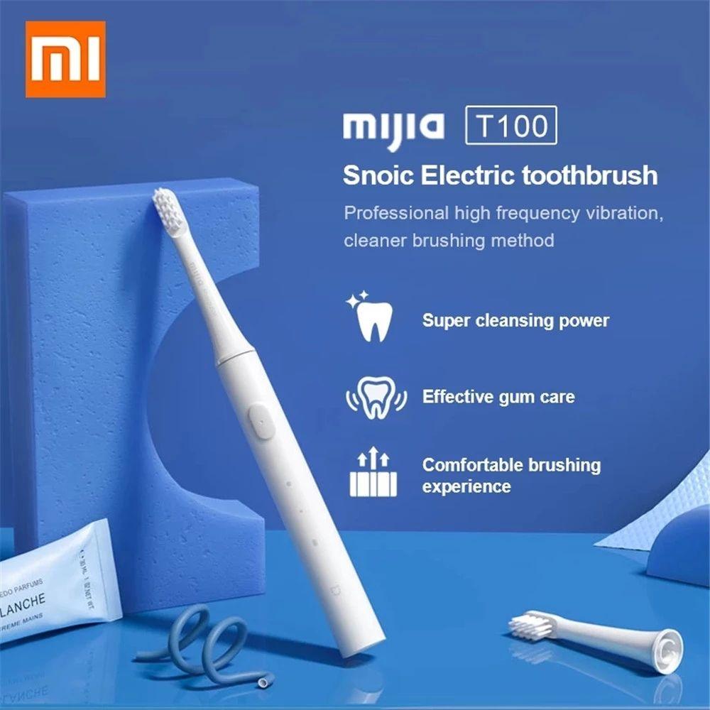 Marca MIJIA di Sonic Spazzolino elettrico cordless USB ricaricabile portatile spazzolino impermeabile denti ad ultrasuoni automatico Brush FY8147 8148