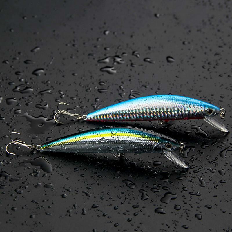 피요르드 뜨거운 판매 품질 5PCS / 많은 미노 레이저 하드 전문 SwimBait 인공 미끼 201019 싱킹 125mm의 40g 낚시 미끼