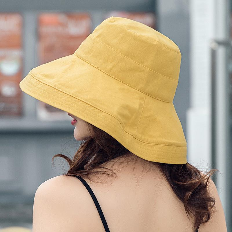 Outlet 2021 NOUVEAU Femme de pêcheur Harajuku Big BRim Sunshade Sunshade anti-ultraviolets Masque Net Red Hat Summer