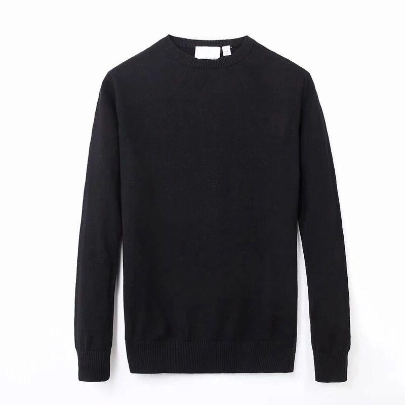 2021 Новые свитера Мужская пот рубашка модноголонги рукав пара свитер осенний свободный пуловер