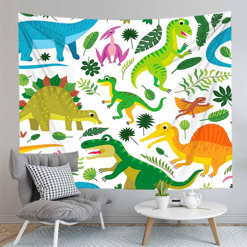 Dinossauros Dinossauro Tapeçaria Sheets tapeçaria Início Praia decorativa Toalha Yoga Mat Blanket Pano de tabela