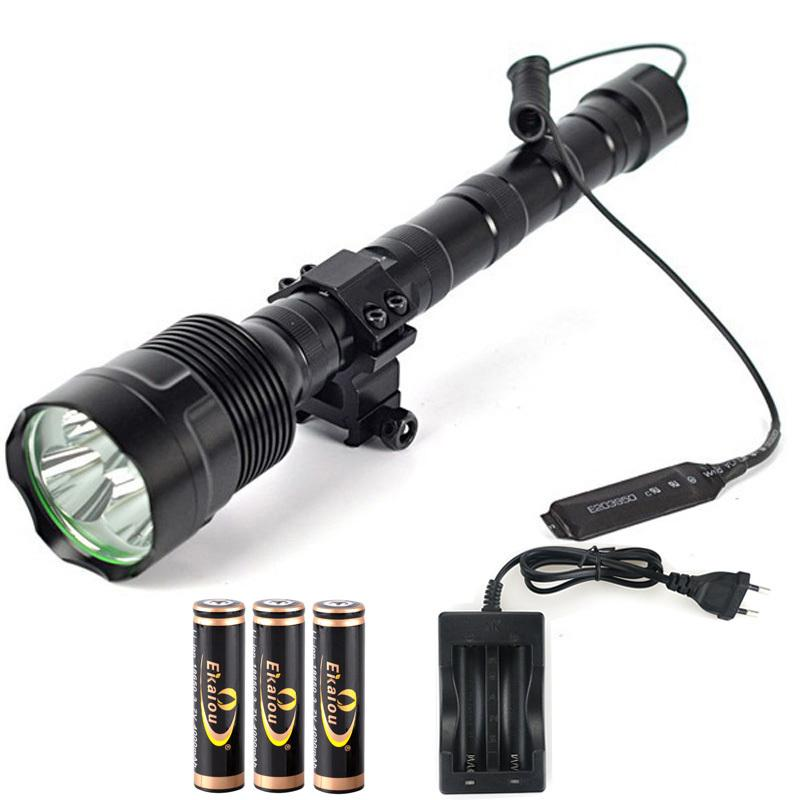 Hot Super Bright TrustFire 3x XM-L L2 LED 3800 Lumen LED Torcia tattica Torcia elettrica 5 Modalità Torch 201207