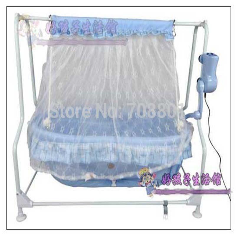 Baby Electric Steel Marco Cradle Baby Music Bed Swing Bed Schocker Cradle sin controlador de radiación