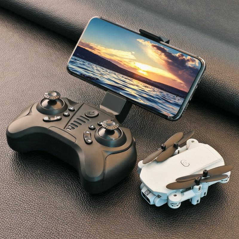 Дрон 4K HD широкоугольная камера 0.3MP / 5.0MP / 4K HD Caperacs Мини Дрон камеры Quadcopter Высота Держите Дружинные игрушки подарки