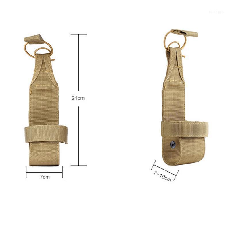 Chaud extérieur en plein air de nylon utile randonnée tactique molle eau bouteille porte-courroie sacs mvi-Ing1